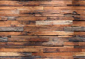 Wooden Wall – Wall Mural 8 part- 366cm x 245cm