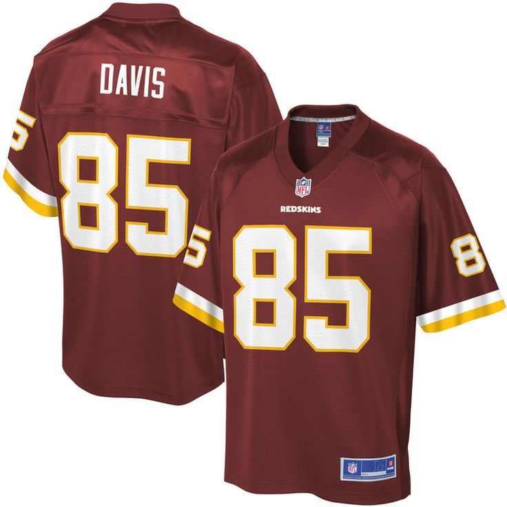 Vernon Davis Washington Redskins NFL Pro Line Player Jersey - Burgundy