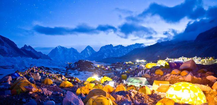 El monte Everest: la belleza del tiempo en time-lapse