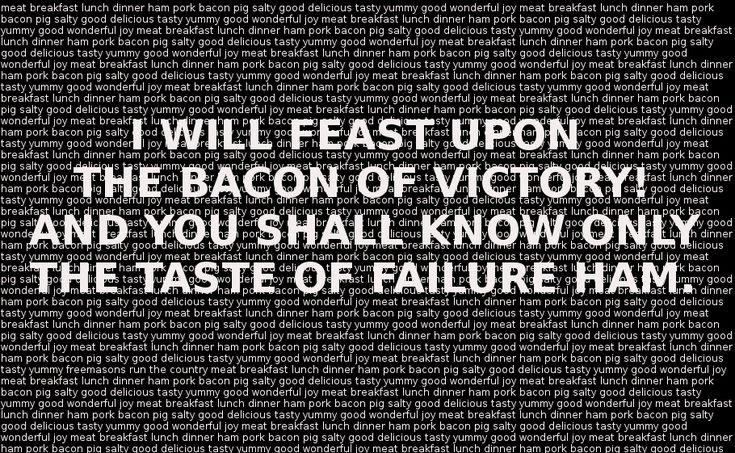 Bacon Jokes Will Never Get Old by PsychoMonkeyShogun.deviantart.com on @deviantART