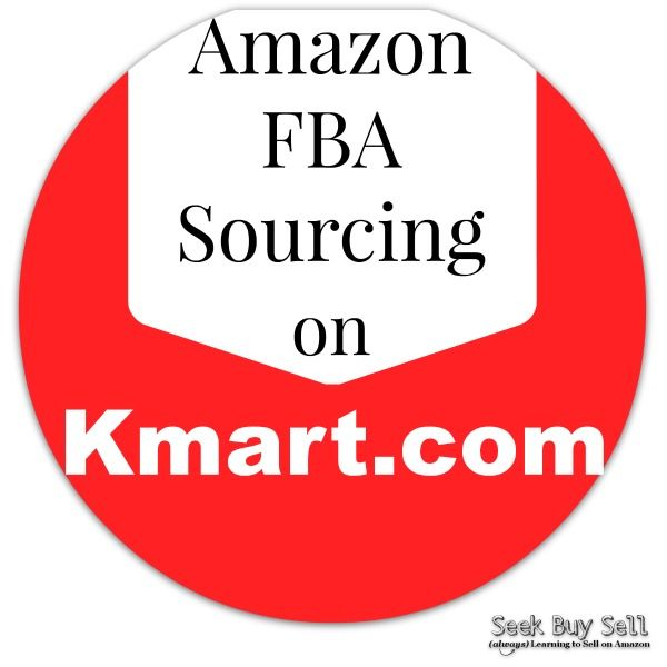 What to sell on Amazon FBA - using Kmart.com. #AmazonFBA