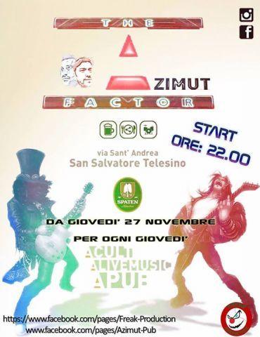 AZIMUT FACTOR live @ AZIMUT PUB by FREAK PRODUCTION