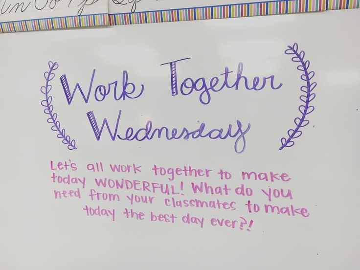 My kids love when we have a special message to start the day! Thanks @miss5th for the great idea! #iteachtoo #iteachfifth #miss5thswhiteboard