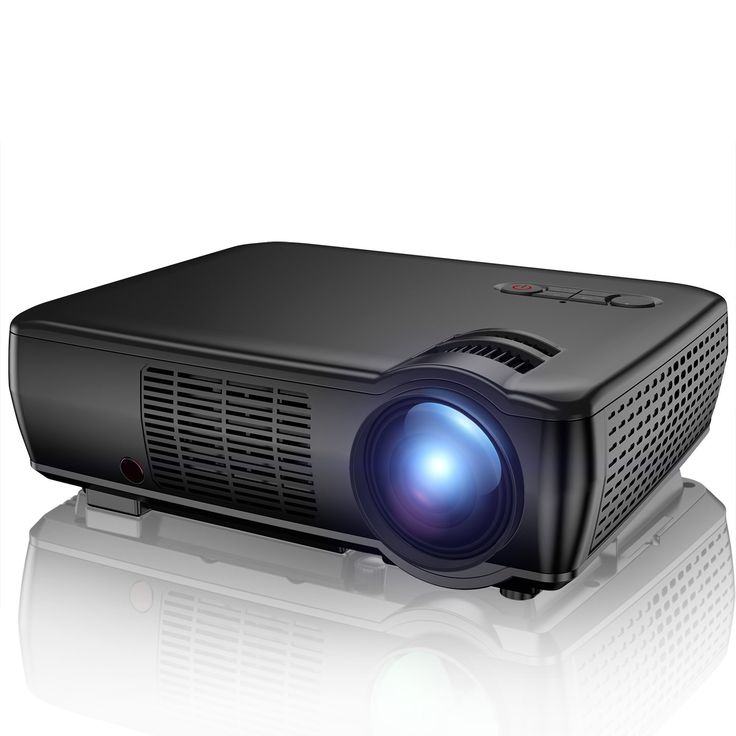 Projector, TENKER 2400 Lumens Portable Video Projector Mini Home Theater LCD Projector Support 1080p HDMI VGA USB AV for Out door & Indoor Movie Nights, Video Games