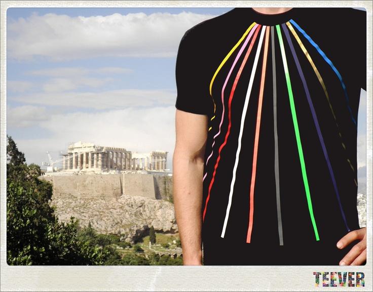 Cotton Black T-Shirt Design : Prisma