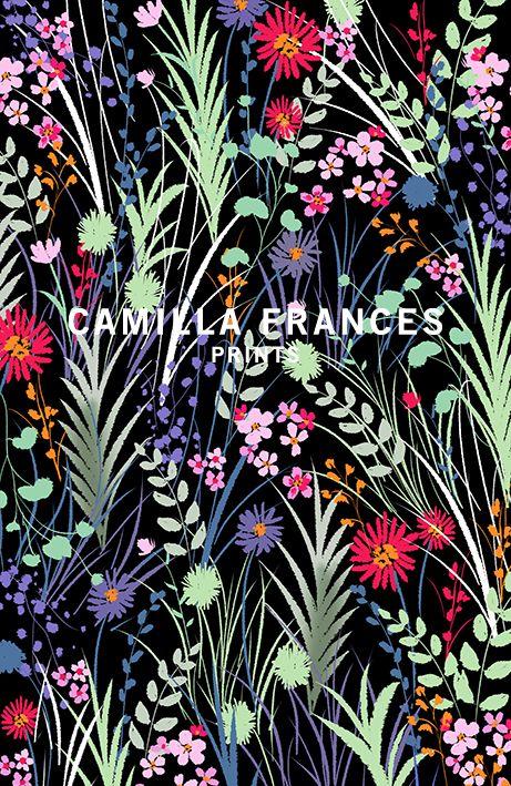 Camilla Frances Prints   London Textile Print Studio   Print Studio in London