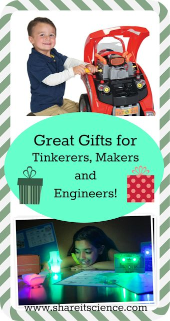 Share it! Science News : Gifts Ideas for Tinkerers, Makers and Engineers