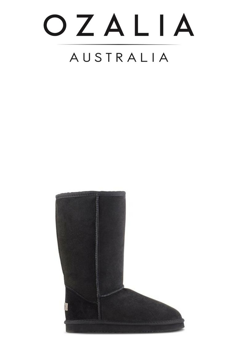 ICON TALL - Ugg Boots. If you want to feel the sheer luxury of our fleece while looking super stylish then the Icon Tall is your perfect boot. www.ozaliaboots.com