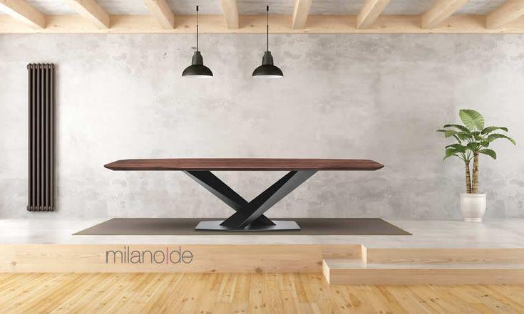 Rozalia: ένα πολύ ιδιαίτερο τραπέζι που συνδυάζει εξαιρετικά το μέταλλο με το ξύλο!   https://www.milanode.gr/product/gr/2842/trapezi_rozalia.html  #Τραπέζι #Τραπέζια #Τραπεζαρία #Τραπεζαρίες #Έπιπλα #Rozalia #Table #Tables #Furnitures #Milanode