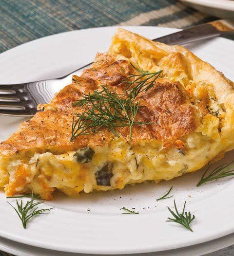 Haddock and Cheese Pie