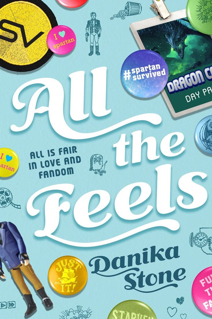 #coverreveal: All The Feels  Danika Stone, Redesign