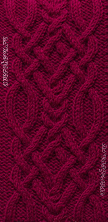 Cable Stitch Pattern - Russian