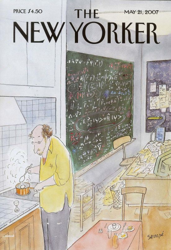 The New Yorker May 21, 2007 Jean-Jacques Sempé