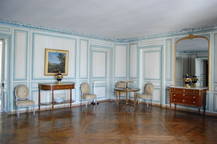 Dining Room of Madame du Barry (Palace of Versailles).