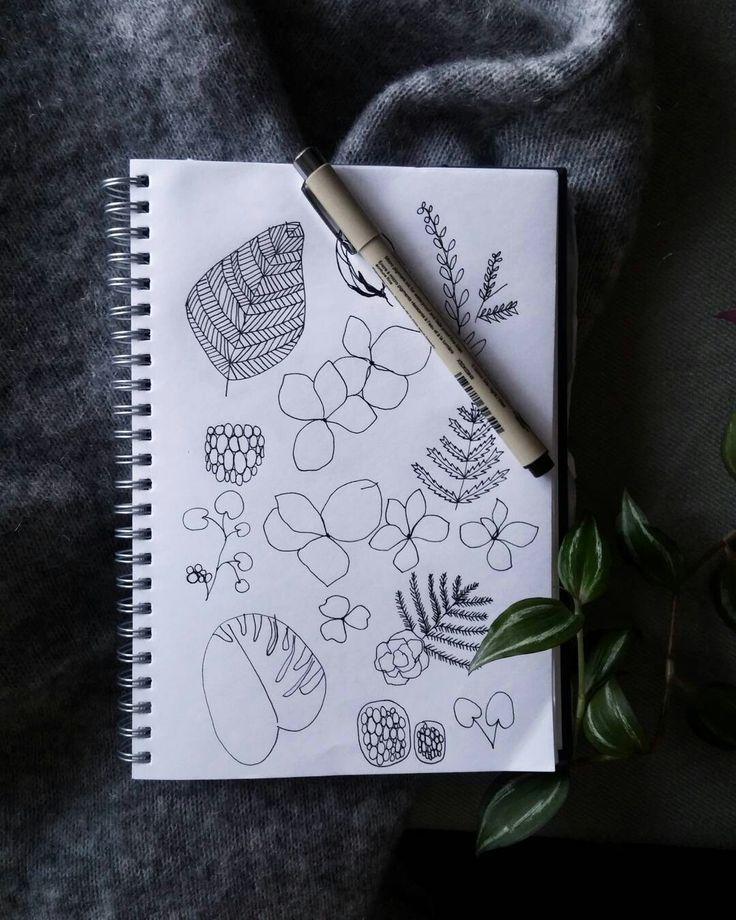 Flower sketches by STUDIO smoo