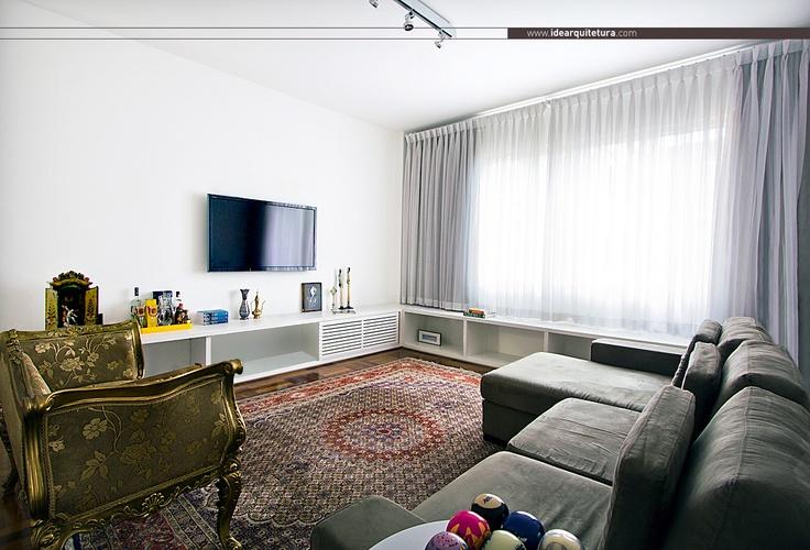 Sala de estar living room ideas for home sala de for Idea sala de estar cuadrada