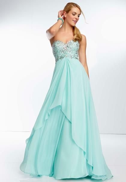 16 best 2014 Mori Lee Prom Dresses images on Pinterest | Party wear ...