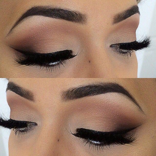 Love this neutral eye look!