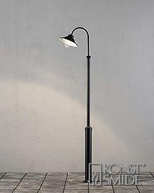 Om Konstsmide Vega lykta LED ink stolpe563-750
