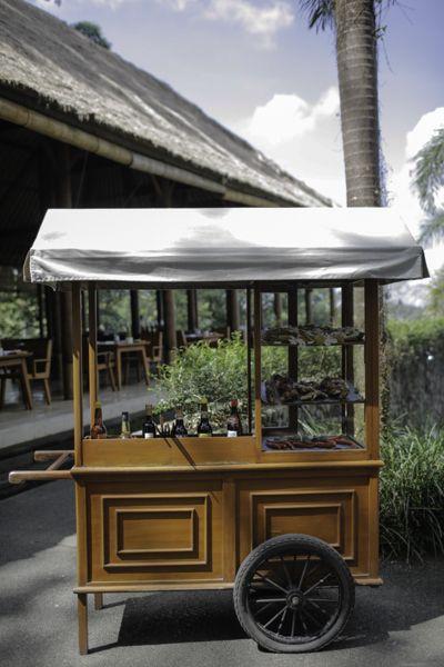 Afternoon tea, Alila Ubud, Bali