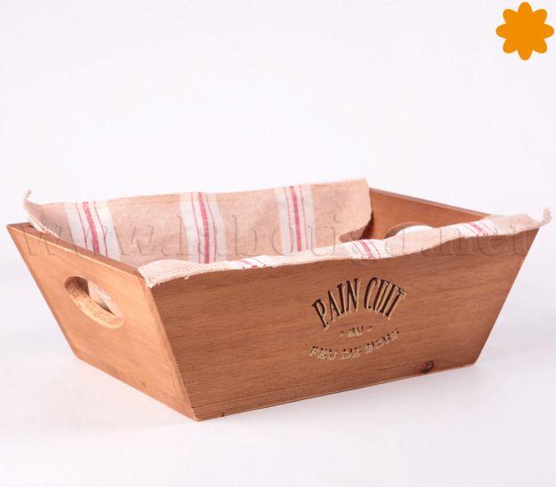 #Caja madera de servir el #pan. Lo tienes disponible clica en la imagen para verlo en la tienda.