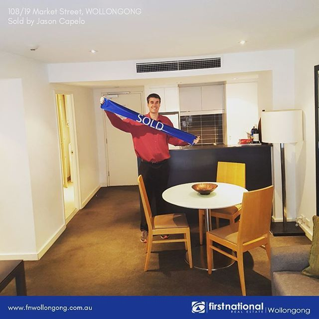 Congratulations to our new property investors of 108/19 Market St Wollongong. Thank you for the trust, Cheers! 👍 #fnrewollongong #soldbyfirstnational #fnre #beautifulhome #firstnationalgroup #realestate #realestateagent #sold #domain #illawarraproperty
