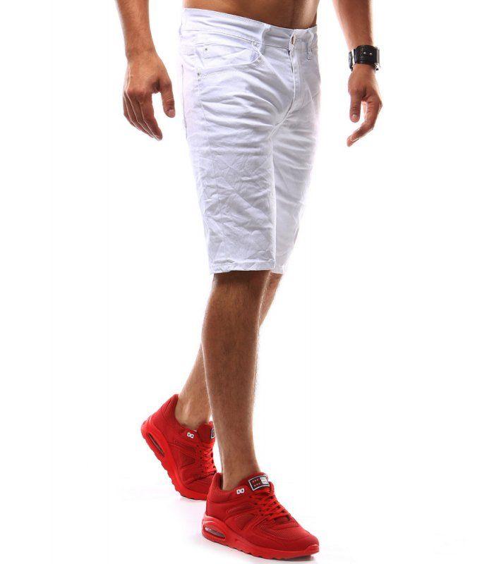 Pánske džínsové biele nohavice