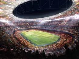 Stadium to watch sports