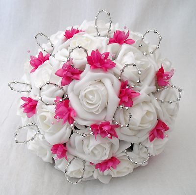 Beautiful White And Pink Flowers