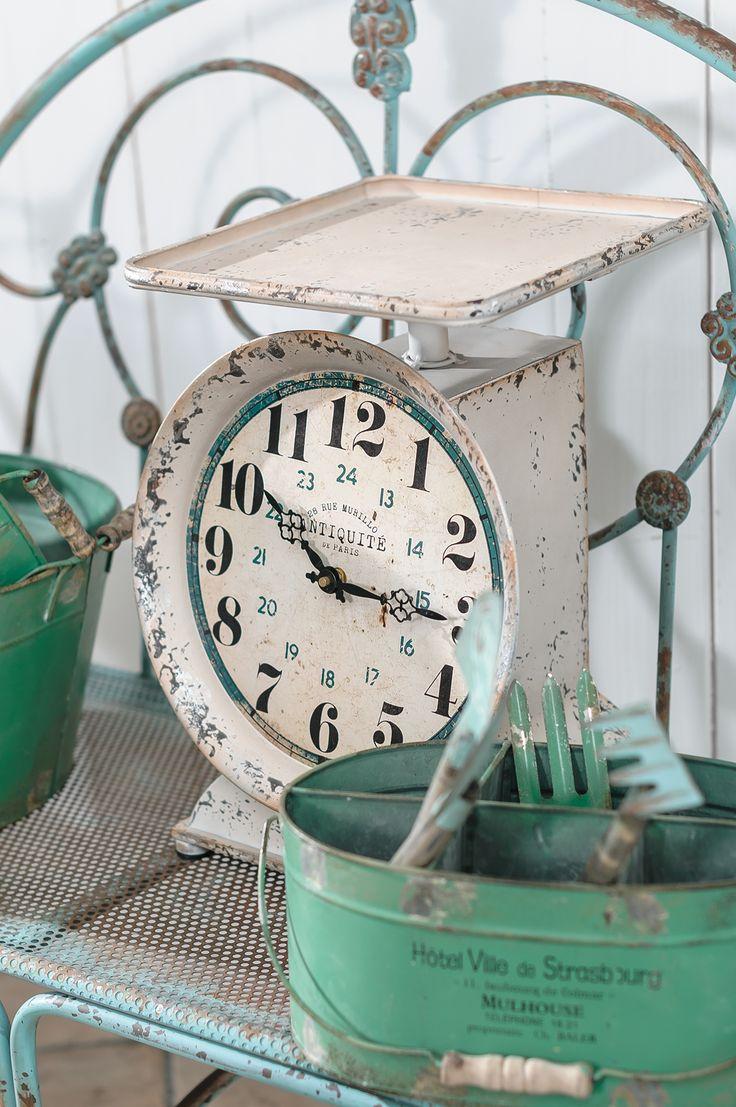 Czas na wagę złota. Zegar Waga Luna #Belldeco #vintage #homedecor