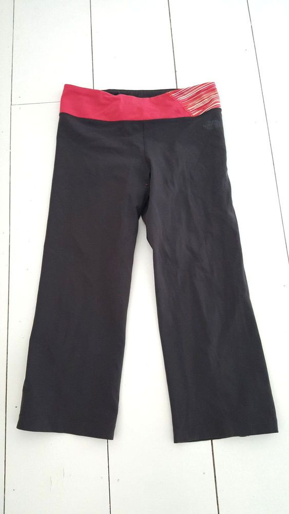 The North Face Leggings Size Medium Gray Athletic Exercise Pants Womens Yoga #TheNorthFace #PantsTightsLeggings