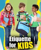 What a cool way to help teach your kids etiquette and manners!