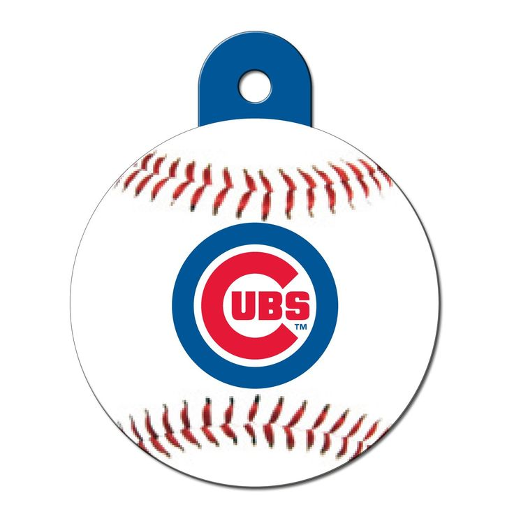 Quick-Tag+Chicago+Cubs+MLB+Personalized+Engraved+Pet+ID+Tag,+Large+-+Quick-Tag+Pet+ID+Tags+are+a+must+have+for+every+pet.+Quick-Tag+Pet+ID+Tags+help+ensure+the+safety+of+your+pet+if+they+wander+off+or+get+lost.+Quick-Tag+can+be+engraved+with+personal+information+to+ensure+a+safe+return. - http://www.petco.com/shop/en/petcostore/product/quick-tag-chicago-cubs-mlb-personalized-engraved-pet-id-tag
