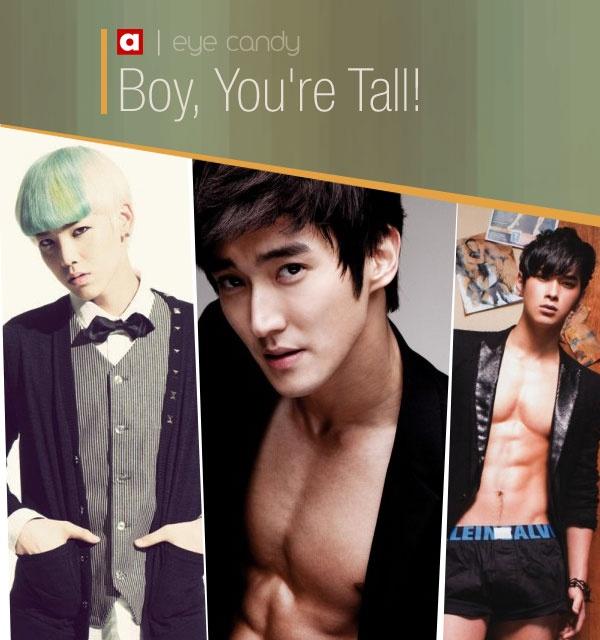 Eye Candy: Boy, You're Tall!