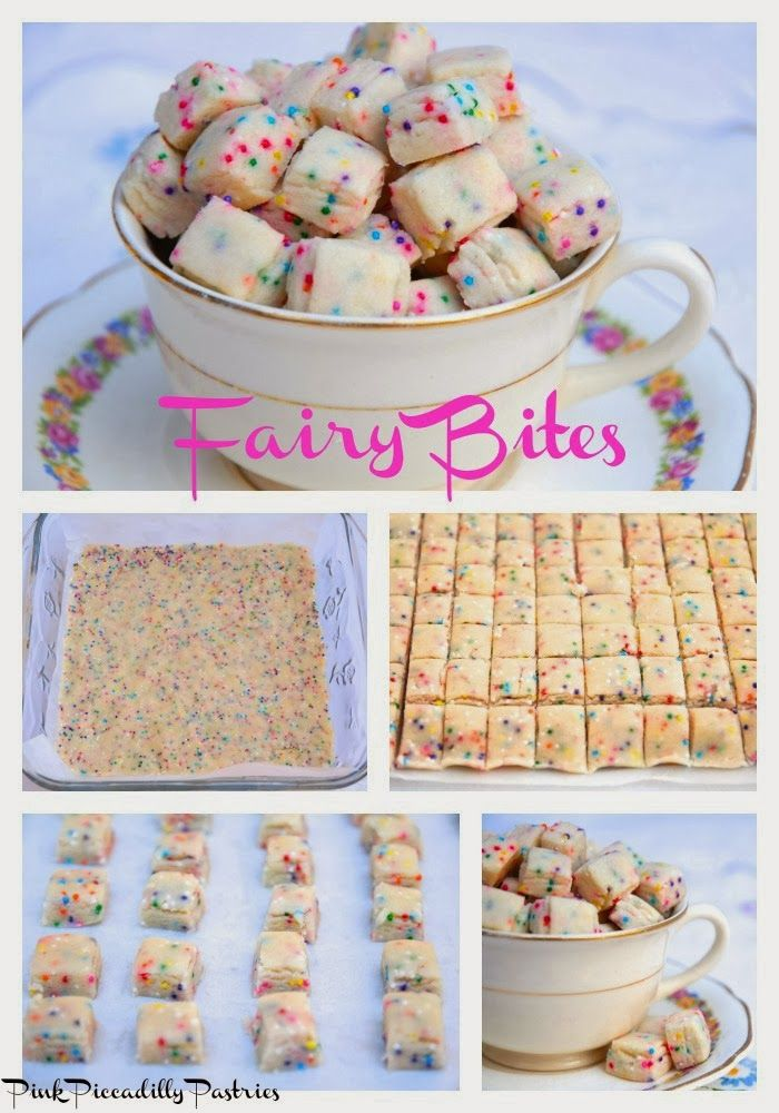 Pink Piccadilly Pastries: Fairy Bites - A Sweet Little Treat