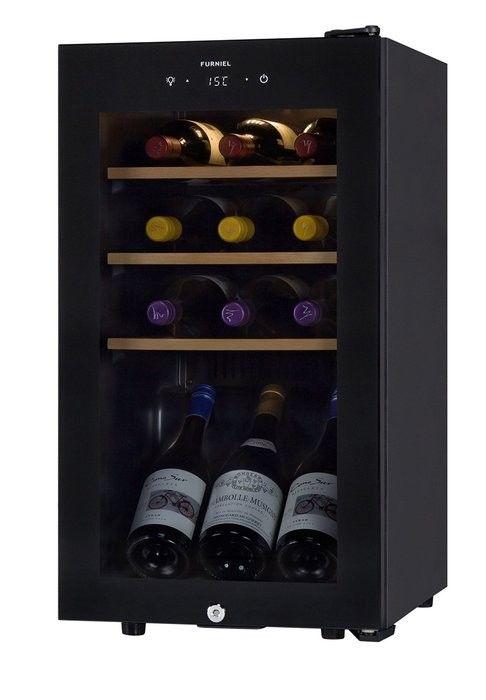小型・スリムなワインセラー5選♪狭いところにおすすめ!-カウモ FURNIEL/ファニエル 長期熟成型ワインセラー SAB-50G-PB 50,320円