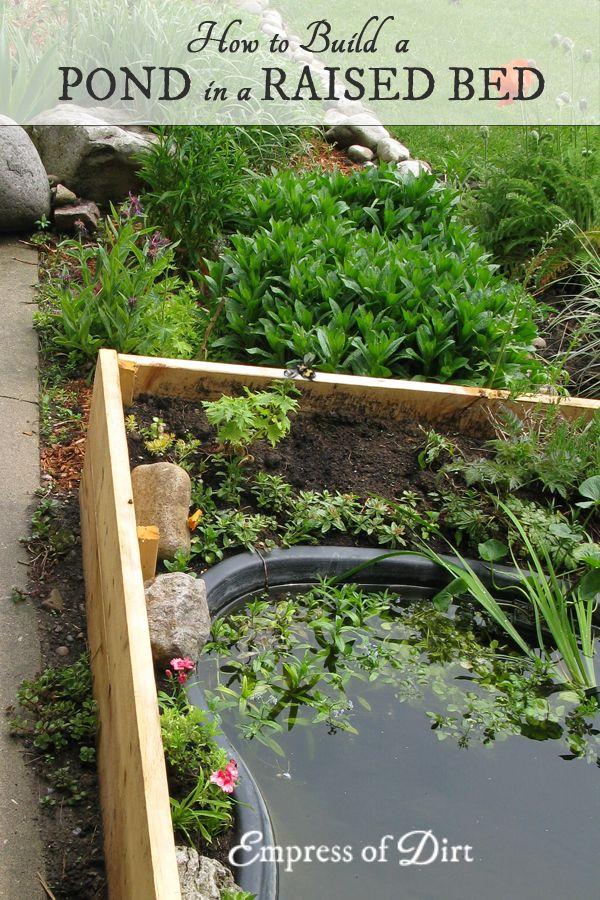 2076 best gardening images on pinterest vegetable garden for Pond building tips