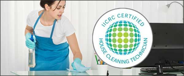 House Cleaning Technician Certification