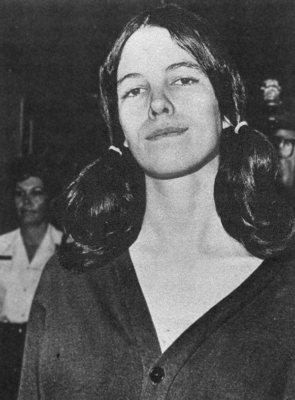 Leslie Van Houten - charged with murdering Rosemary & Leno LaBianca - Manson girl