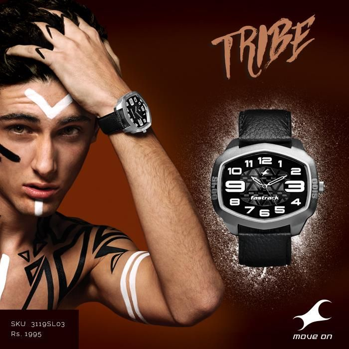 Go wherever your #Tribe takes you.  http://fastrack.in/products/watches/sku-3119sl03/