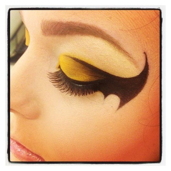 Batman Makeup ❤ liked on Polyvore featuring beauty products and makeup