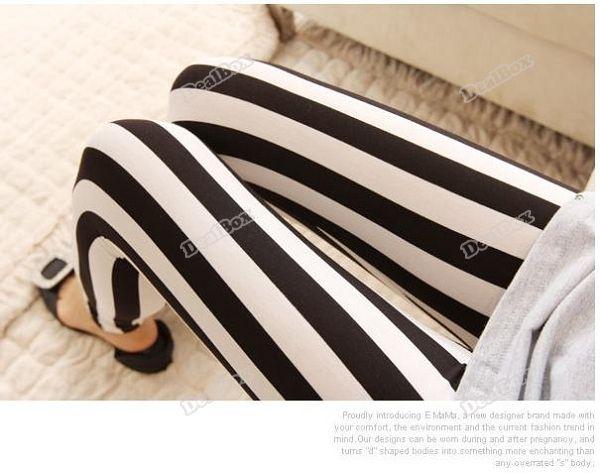 Купить товарLeonaboy глобальный! прекрасный женщин черные белые вертикальные полоски леггинсы колготки брюки уникальный в категории Леггинсына AliExpress.       Пожалуйста, запрос, статус вашего заказа на нашем системы после отгрузки.                         Прекрасные женск
