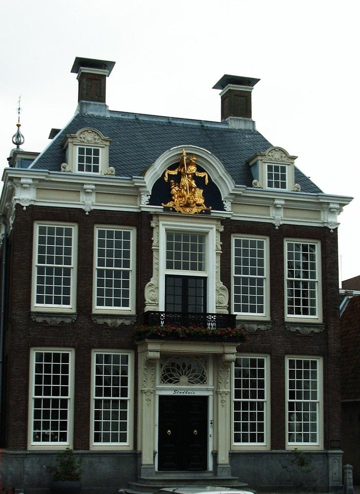 Raadhuis, Harlingen, Friesland.