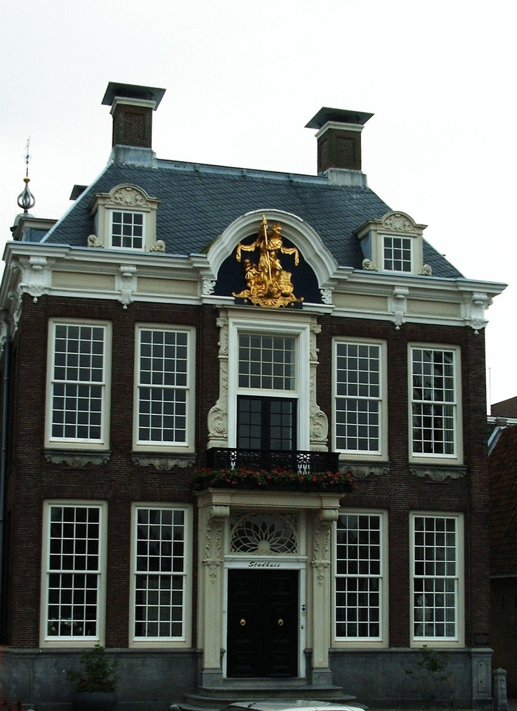Raadhuis, Harlingen, Friesland.