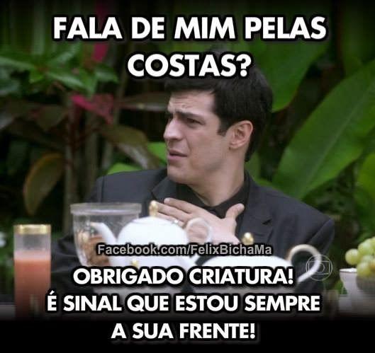 Estas são algumas das pérolas de uma página de fãs humorística da personagem Félix da novela Amor à vida  da Globo que já conta com mais de ...