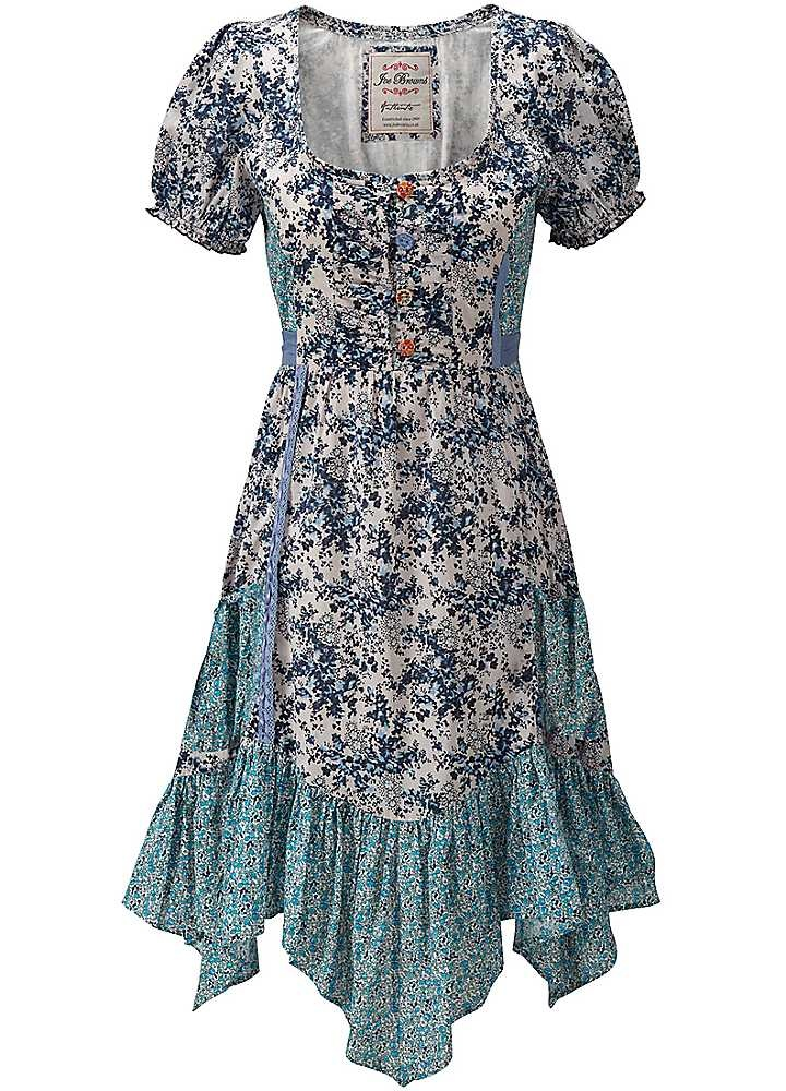 Joe Browns News Cafe Dress - There's nothing like sipping an alfresco iced tea in a pavement cafe and this is just the dress, with its flattering, ditsy print and easy going feel. £65. @Joseph Cohen Jonge Cohen Browns