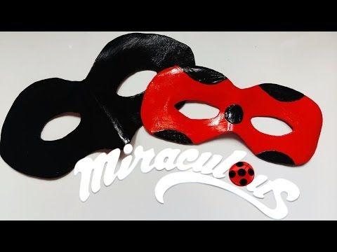 ♥ Tutorial: Máscara o Antifaz de Ladybug || Miraculous Ladybug ♥ - YouTube