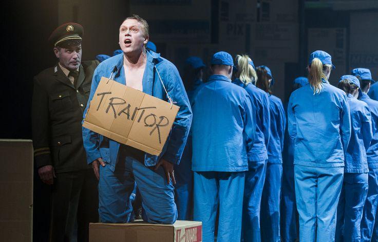 Turandot - Andrew Rees (Pang), Neal Cooper (Calaf), The Chorus of Northern Ireland Opera - #TurandotBelfast