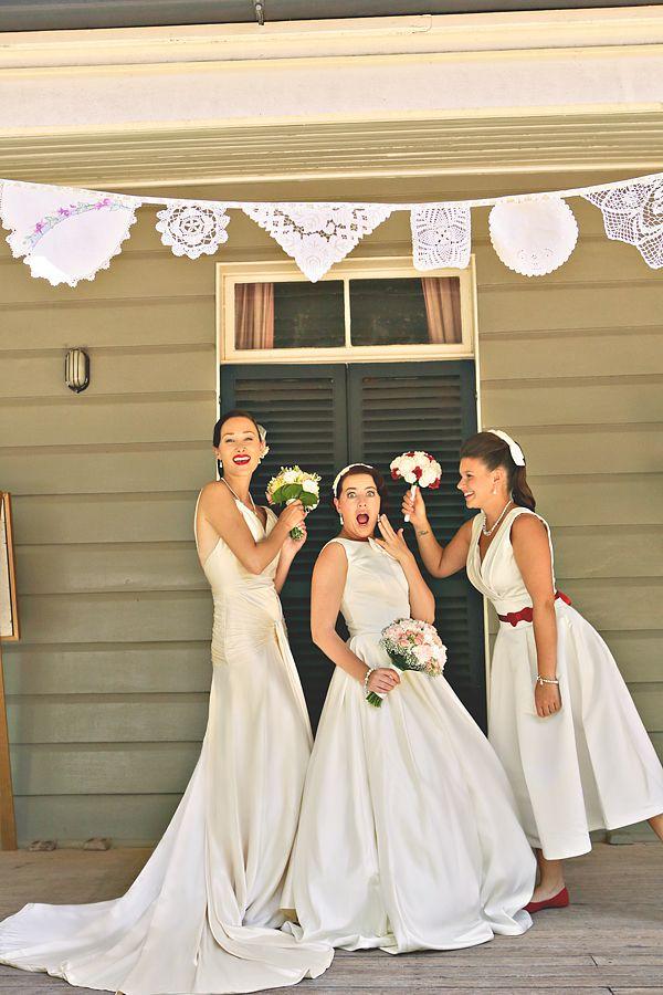 Vintage Bride Wedding Fair Gabbinbar Homestead, Toowoomba // Alyce and Colette Photography