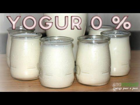 Como hacer yogur casero de forma fácil. Estilo natural y estilo griego. - YouTube